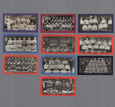 Cigarette/Trade/Cards.Roc kwell Cards.Classic Football Teams.(2000).(Full Set 10)