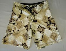 Hurley ~ Vintage Inspired Swim Trunks ~ Boardshorts ~ Men's Size 28