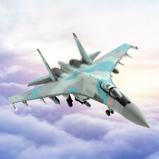 1/100 Russian Air Force SU35 Super Flanker Aircaft Diecast Display Collection
