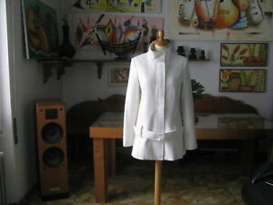 Women's Coat Atmosphera With / Belt Magia Life, Size XL Made IN Italy