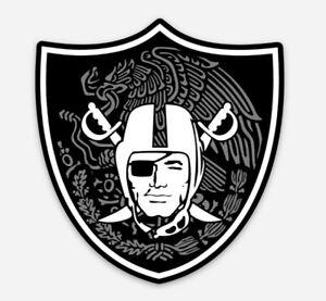 Las Vegas Raiders Mexico MAGNET - Football former Raiders Oakland NFL