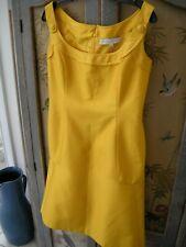 Carolina Herrera New York Yellow Dress Formal Cocktail Size 8