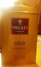 YARDLEY GOLD DEODORIZING TALC 250 GMS e 8.8 oz. TIN PACK: BUY MORE SAVE MORE