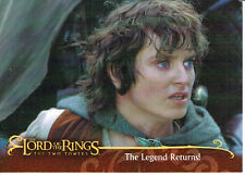 LORD OF THE RINGS TWO TOWERS UK EXCLUSIVE PROMOTIONAL CARD L1