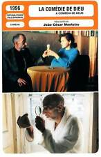 FICHE CINEMA : LA COMEDIE DE DIEU - Joao Cesar Monteiro 1996 God's Comedy
