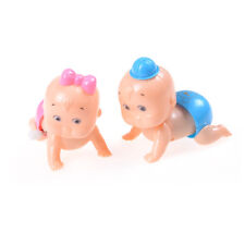 Crawling Crawl Toy Clockwork Doll Wind up For Baby Kids Children Party Pop Lhl