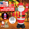 5FT Air Blown Inflatable Christmas Santa Claus w/ LED Outdoor Holiday Yard Decor