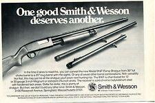 1976 small Print Ad of Smith & Wesson S&W Model 916T Pump Shotgun