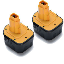 2 PACK NEW 12V 12 VOLT BATTERY FOR DEWALT DC9071 DW9071 DW9072 DE9071 DE9072