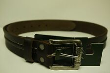 Woolrich Crawford Men's Brown Leather Belt Size XL (825)