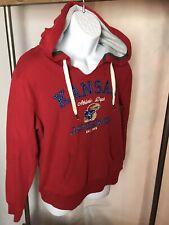 NWT/FREE SHIP Blue 84 Men's Large Hoodie Sweatshirt University Of Kansas