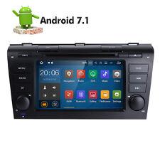 Android 7.1 Car DVD GPS Stereo Radio Nav For Mazda 3 2004 2005 2006 2007 2008 E