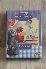 Coffret moulage pâte à sel Disney Ratatouille Emile et Linguini Kerlude - NEUF