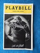 Grease - Eugene O'Neill Theatre Playbill w/Ticket - July 3rd, 1995 - Fisher