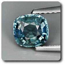 BLUE SAPPHIRE GREEN 0.92 cts. VS. Non heated. Madagascar With Certificate