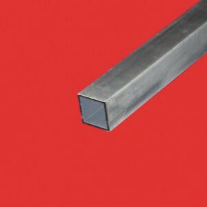 Tube carré aluminium 50 X 50 X 2 MM
