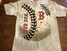 Boston Red Sox Liquid Blue Baseball Team Hardball T-Shirt 2XL NWT New