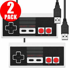 2X Wired USB Nintendo NES Controller Gamepad For PC Windows Raspberry Pi 3 & Mac