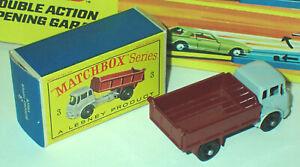 Matchbox 3b Bedford Tipper Truck Mint in Near Mint Box
