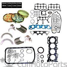 94-97 Honda Accord DX LX Isuzu 2.2 16V SOHC F22B2 F22B6 Gaskets Rings & Bearings