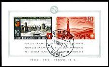 SCHWEIZ 1942 BLOCK7 gestempelt TADELLOS 300€(D4597
