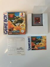 RARE NEW NEUF Nintendo Game boy Gameboy DESERT STRIKE Game Boxed OVP DMG-ADS-NOE