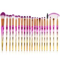 20Pcs Professional Makeup Brushes Set Foundation Eyebrow Eyeshadow Lip Brush Kit