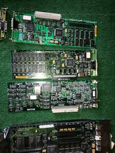 W) VINTAGE 15 APPLE BOARDS MOTHER BOARD PART AND REPAIR MACINTOSH COMPUTER