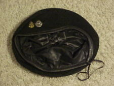Vietnam Era Us Navy Diver Black Beret Rare Orig Mint Incountry Made & So Stamped