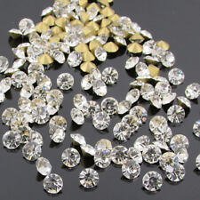 Crystal Clear Pointed Back Rhinestones loose chatons glass crystals beads Gems