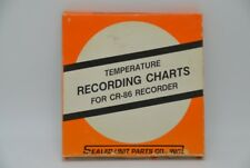 Supco Cr86 Temperature Recorder Charts Cr1-3 - 24 Hour - 100 Charts - New