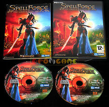 SPELLFORCE THE ORDER OF DAWN Pc Versione Ufficiale Italiana ••••• COMPLETO