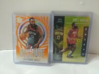 2019-20 PANINI ILLUSIONS BASKETBALL JAMES HARDEN ORANGE MYSTIQUE + GOLD /149 LOT