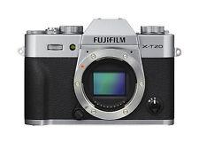 Fujifilm X-t20 Silver Camera Body 32gb Card