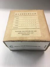 Hasselblad Chrome Magazine 12 Film Back V System Vintage Original box & Sleeve