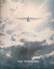 Ford Thunderbird 1980 USA Market Sales Brochure Town Landau