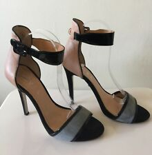 RAVEL SUEDE & LEATHER ANKLE STRAP SHOE UK6