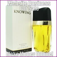 WOMENS FRAGRANCE Website Business For Sale + Domain + Hosting - Work From Home