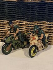 Vintage Military Motorcycle Toys - 2x ( Make An Offer)