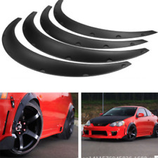 4pcs Universal Car Fender Wheel Arches Flare extension flares wide Polyurethane