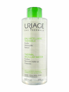 Uriage Thermal Micellar Water Combination to Oily Skin 500ml,2x 500ml