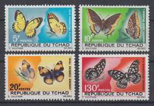 Tschad - Michel-Nr. 174-177 postfrisch/** (Schmetterlinge / Butterflies)