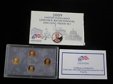 2009 Lincoln Bicentennial One Cent Proof Set US MINT OGP