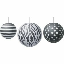 Big, Bold Black & White Paper Lanterns Teacher Created Resources Tcr77101