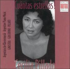 Pillado, Guastavino, Ginastera: Cuantas Estrellas  Audio CD