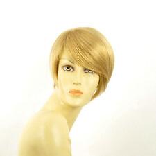 Perruque femme courte blond clair doré YASMINE LG26