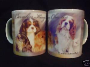 Tasse / Mug - motif chien CAVALIER KING CHARLES