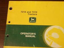 John Deere Tractor Operator'S Manual 7210 And 7410 Tractors K8