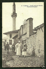 Florina North Gate Mosque People Macedonia Greece 1910