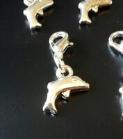 Stitch Markers Knitting Crochet Accessory Dolphins Charms Needlecraft set of 5